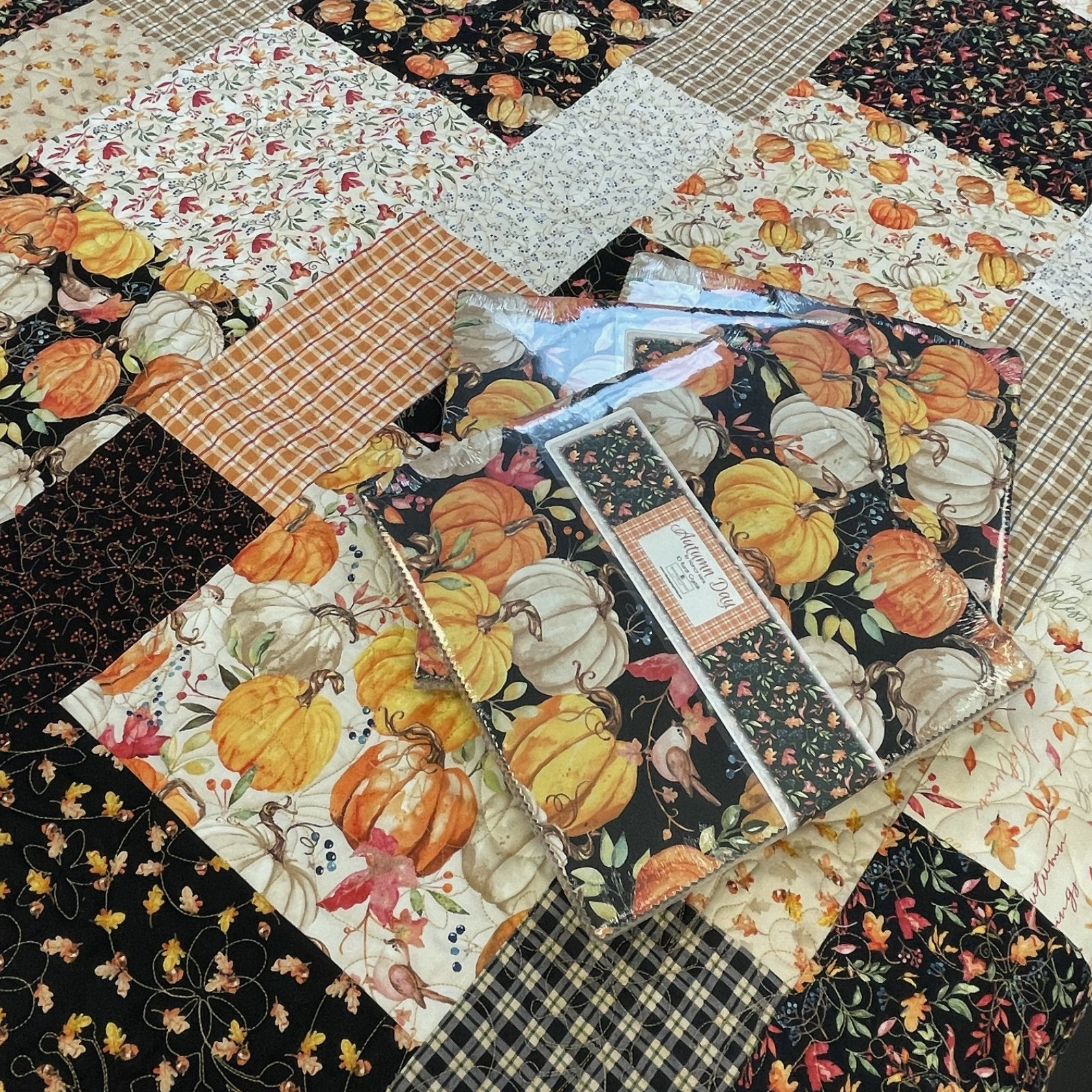 Autumn Day 10 Inch Squares