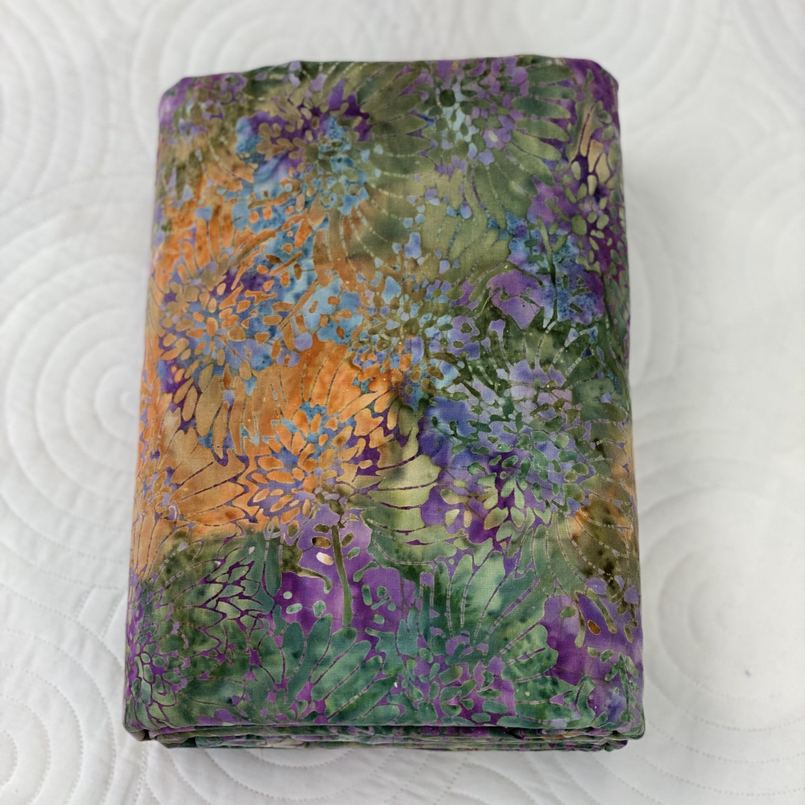 Sew Batik Packed Daisy Lavender