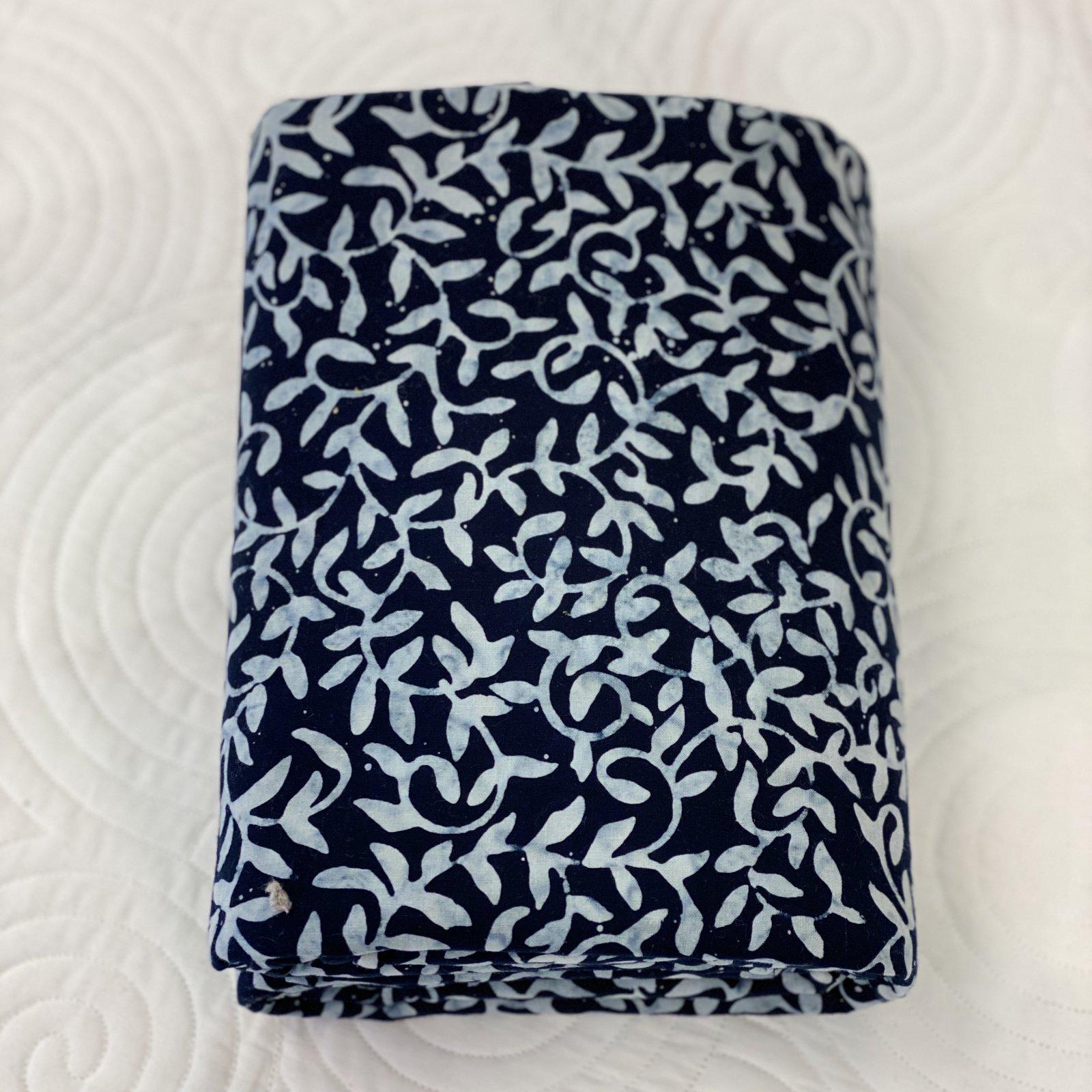 Sew Batik Vine True Indigo