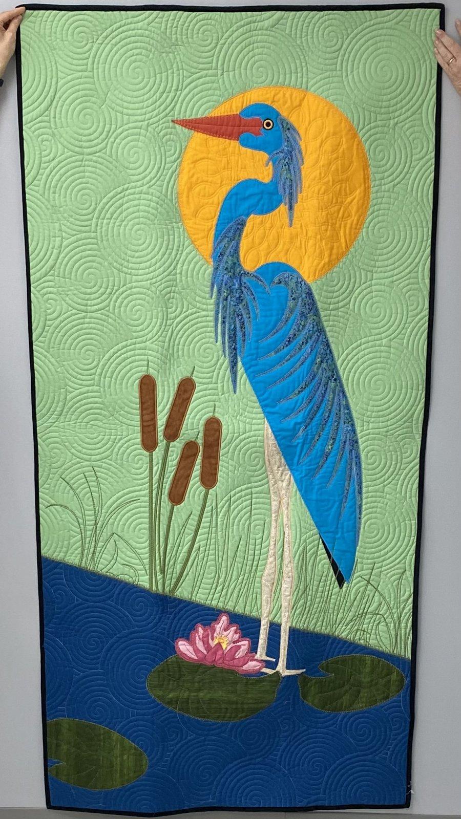 Blue Heron 39 x 79