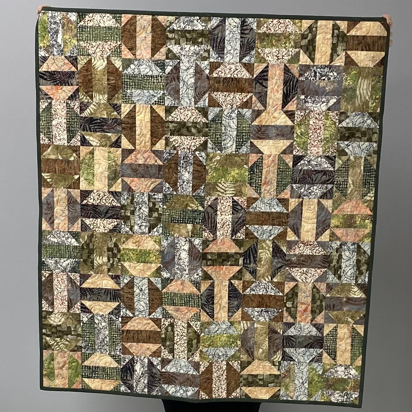 Leaves are Falling Quilt 36 x 40