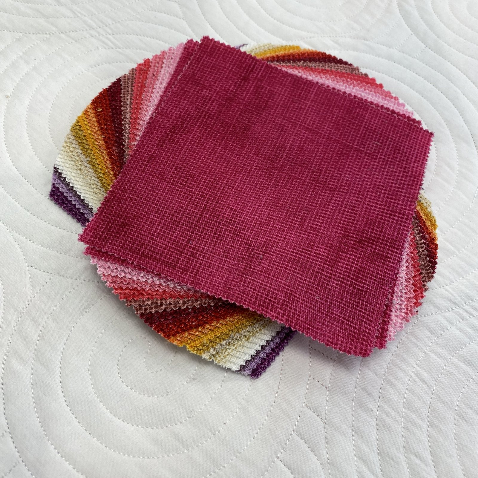 Warm Color Story 5 Inch Squares
