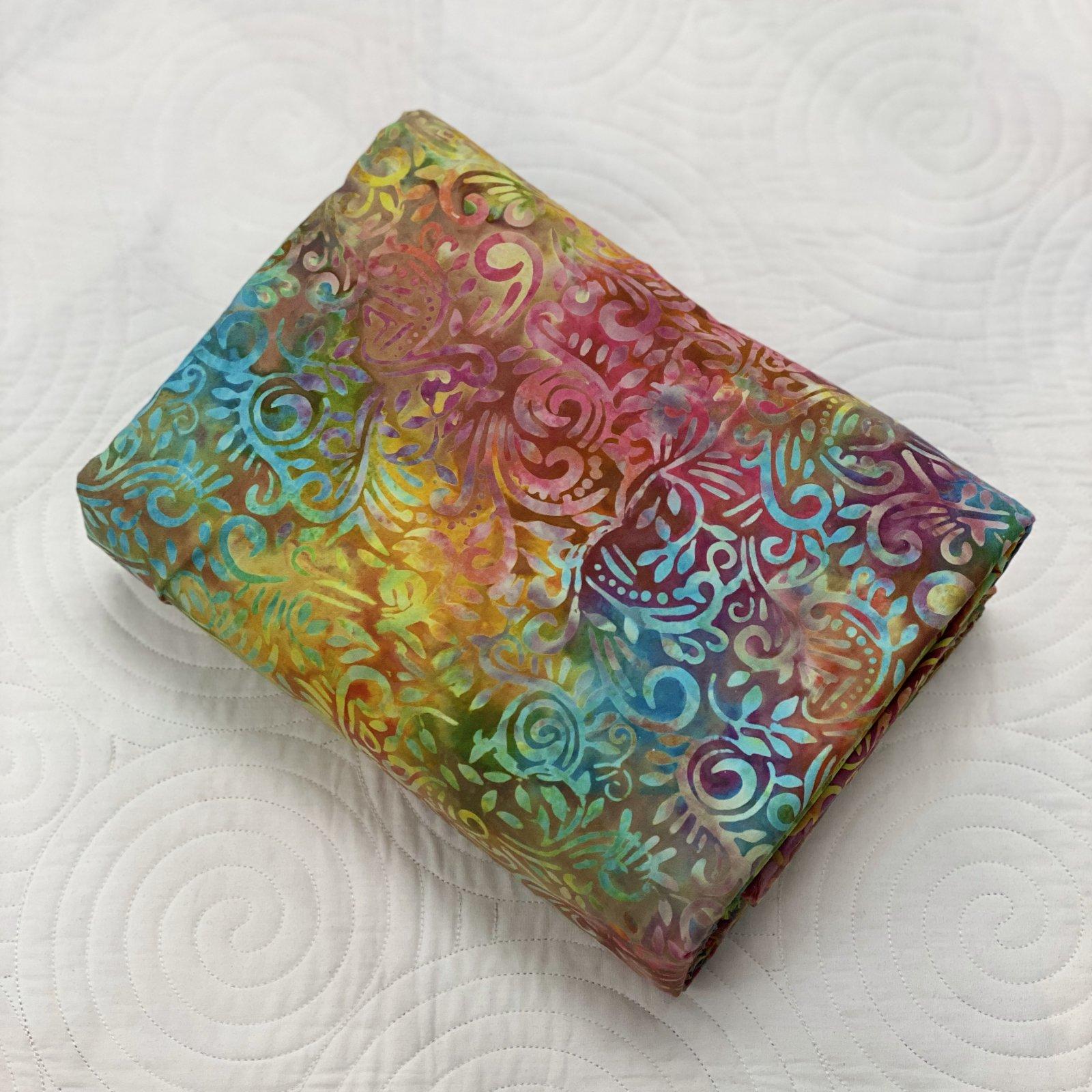 Sew Batik Phoenix Rainbow