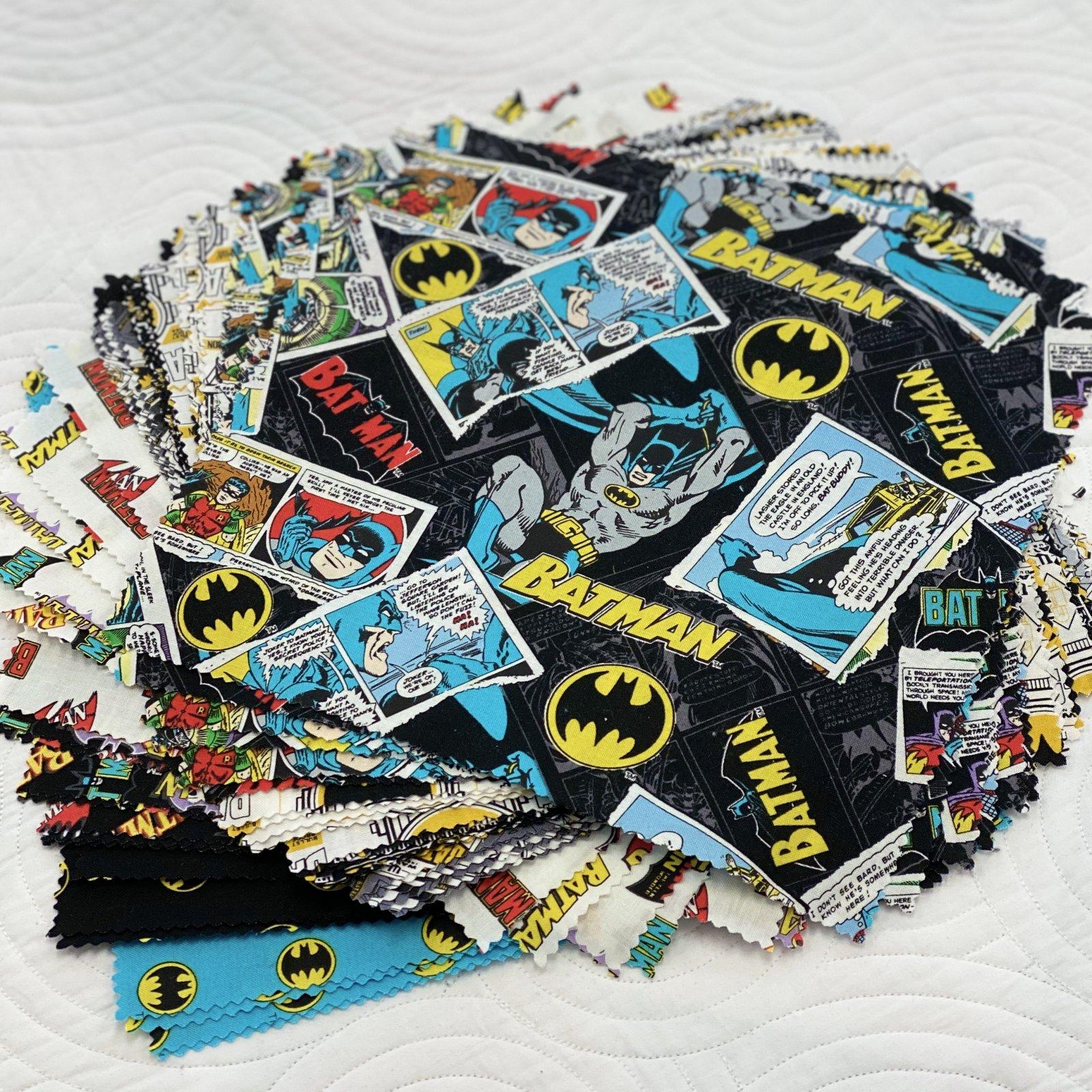 Batman 80th Anniversary 10 Inch Squares