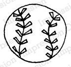Impression Obsession Cling Stamp - Ball