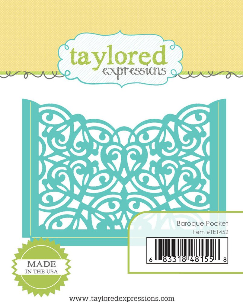 Taylored Expressions Die - Baroque Pocket