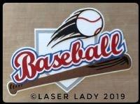 Baseball - Laser TItle