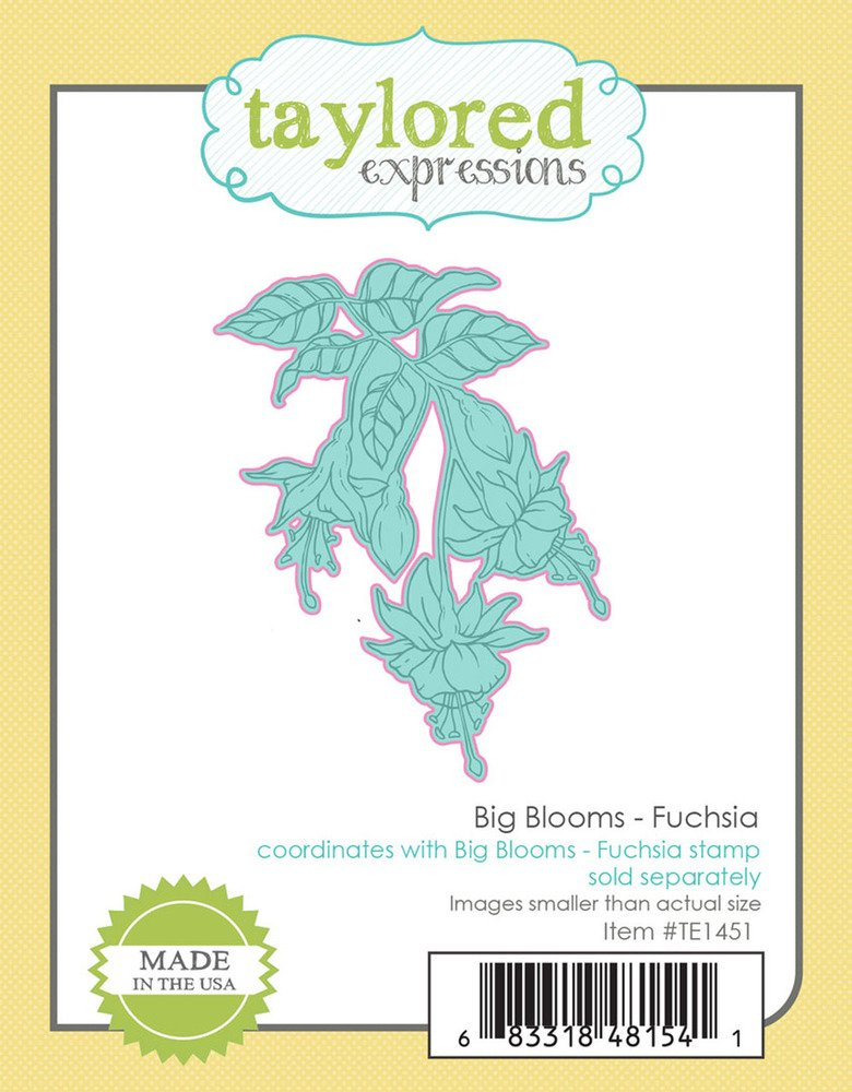 Taylored Expressions Die - Big Blooms - Fuchsia