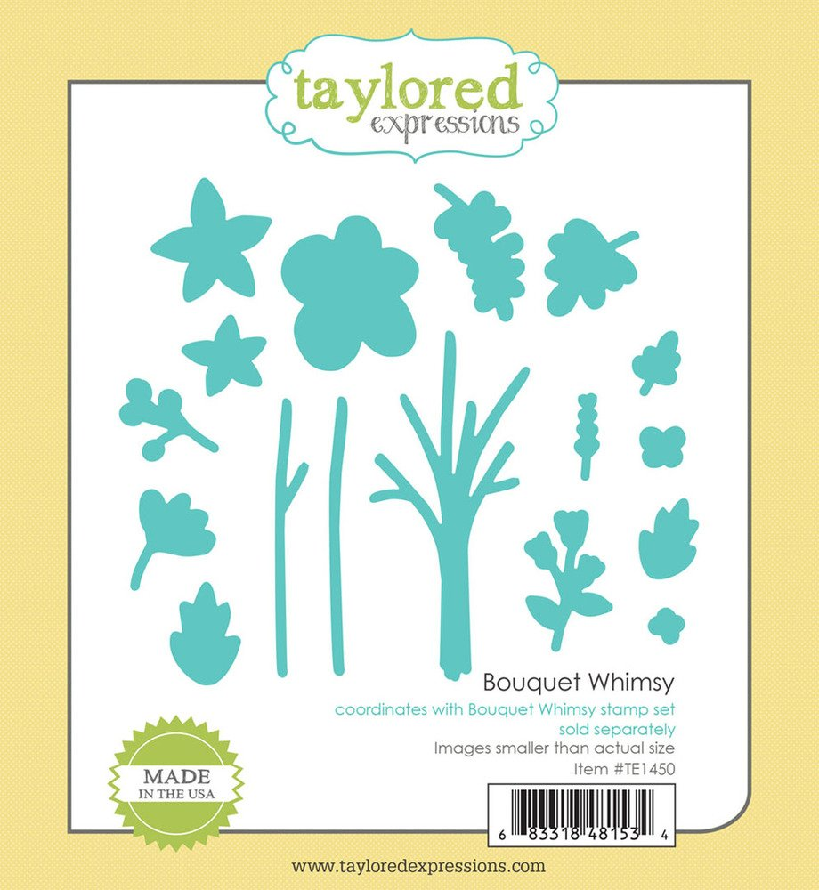 Taylored Expressions Die - Bouquet Whimsy