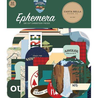 Carta Bella Ephemera, Outdoor Adventures