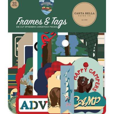Carta Bella Frames & Tags, Outdoor Adventures