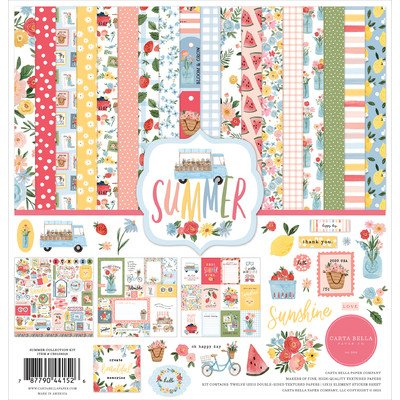 Carta Bella 12X12 Collection Kit, Summer