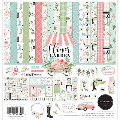 Carta Bella Flower Garden 12x12 Collection Kit