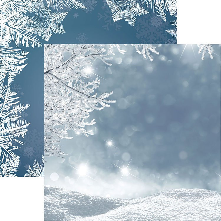 Jack Frost 12x12 Paper