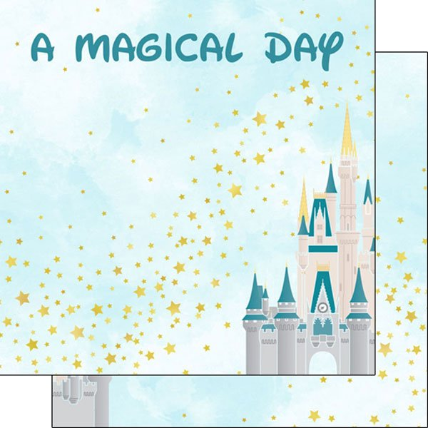 Scrapbook Customs A Magical Day DS 12x12 Paper
