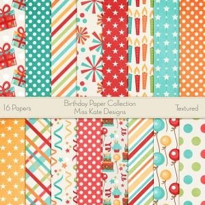 March Miss Kate Cuttables Layout Kit