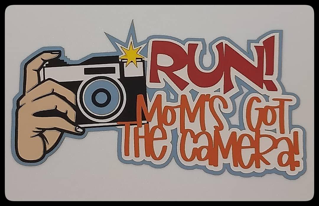 Laser Lady Run Mom's Got The Camera