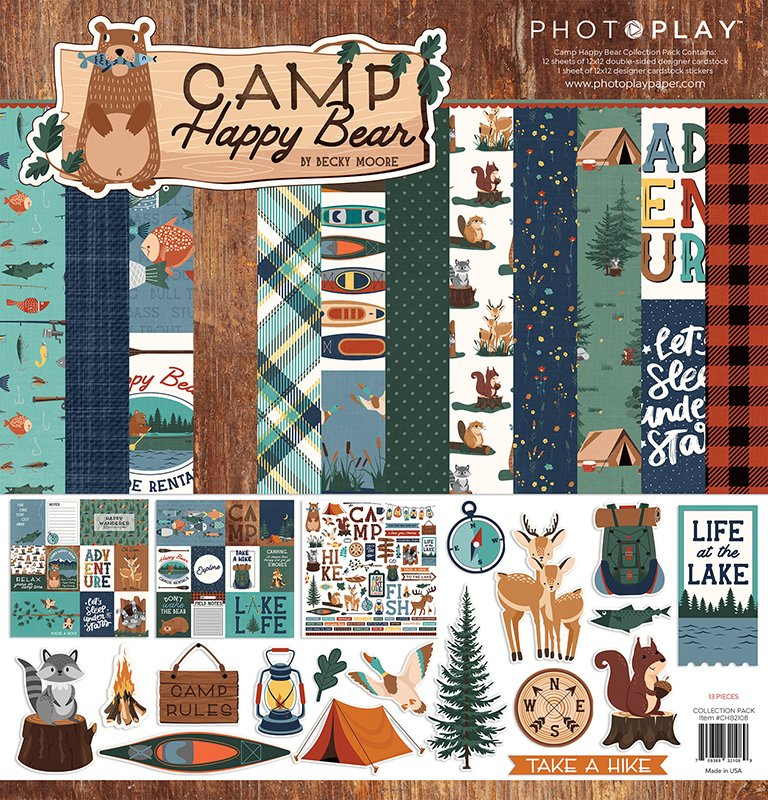 PHOTOPLAY: Camp Happy Bear 12x12 Collection Kit