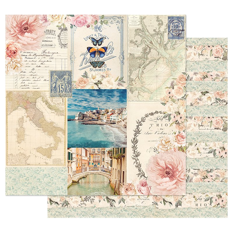 Capri Collection 12x12  Doublesided Paper