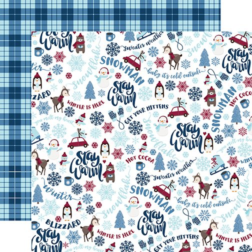 My Favorite Winter Doublesided 12x12 Paper