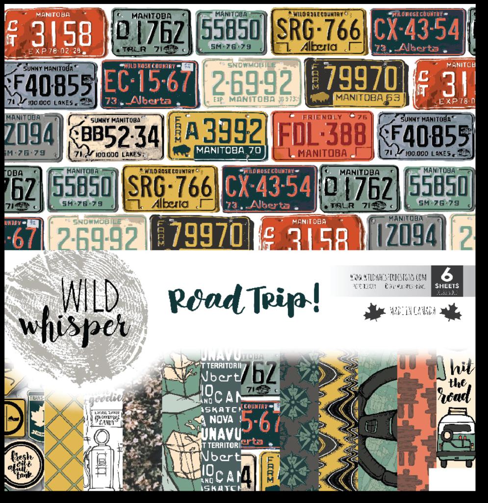 Road Trip! - 12x12 Paper Pack