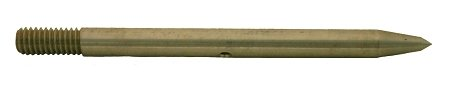 4.5'' ROCK POINT - NO BARB-STAINLESS STEEL-5/16''x18 THREADED