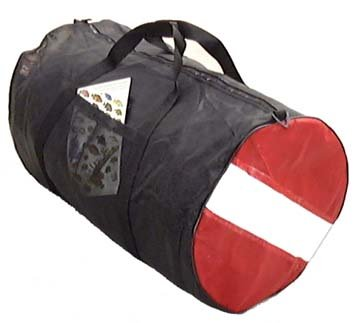 Dive Flag Zippered Dive Bag