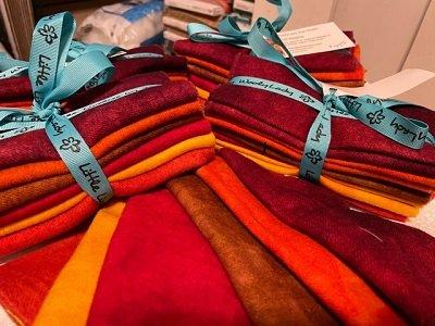 Wool Bundle, Fall Begins,  by Wooly Lady