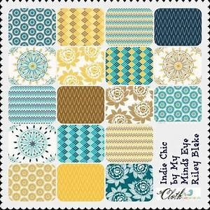 Indie Chic Fat Quarter Bundle by Riley Blake