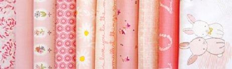 ColorWorks Fat Quarter Bundle: Rose Parfait