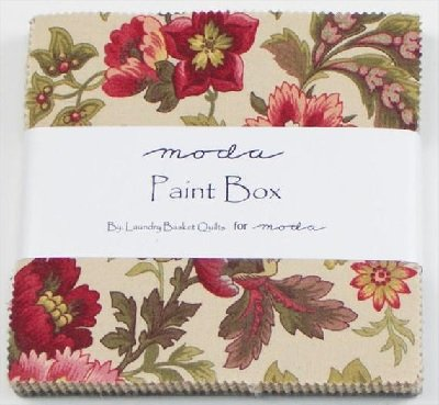 Paint Box  Charm Pack
