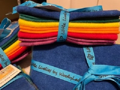 Wool Bundle, Happy New Year by Wooly Lady