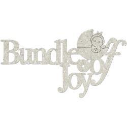 FabScraps chipboard words - Bundle Of Joy - Discontinued