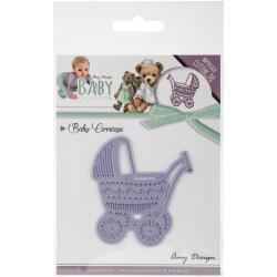 Amy Design Baby Carriage die