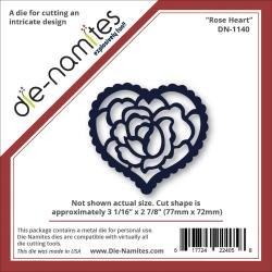 Dienamites Rose Heart Die