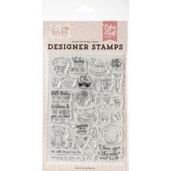 Echo Park Hello Baby Little Baby stamp set - Discontinued