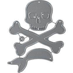 Echo Park Skull and Crossbones die set