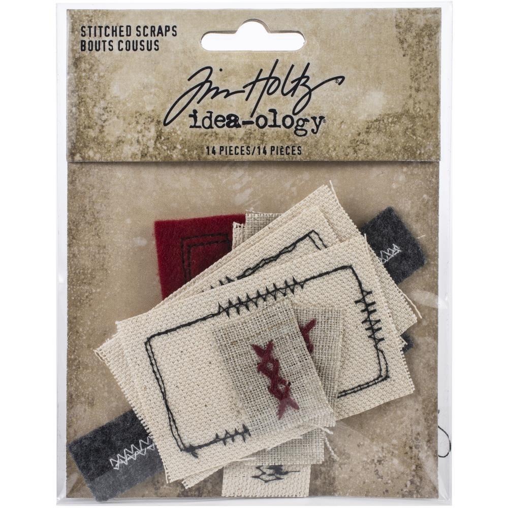 TH Idea-Ology Stitched Scraps 14/Pkg