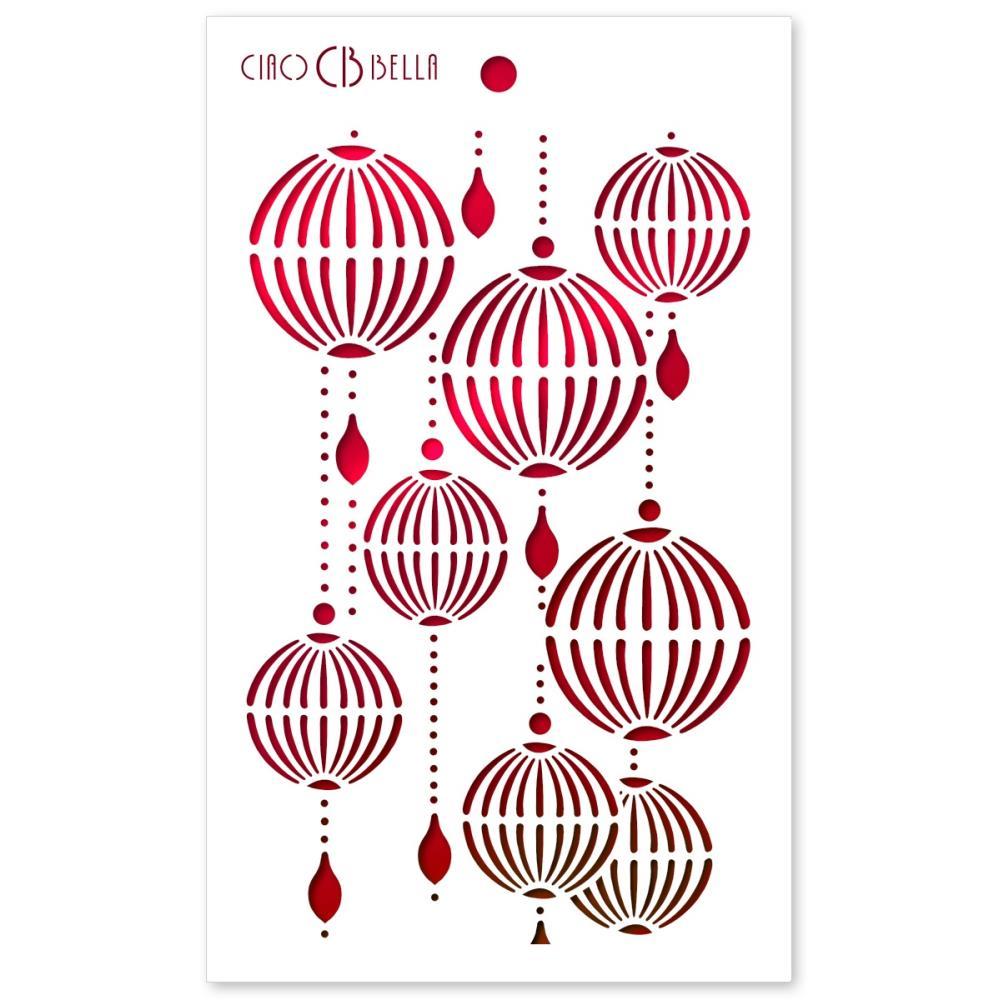 CIAO - Art Stencil - Lanterns