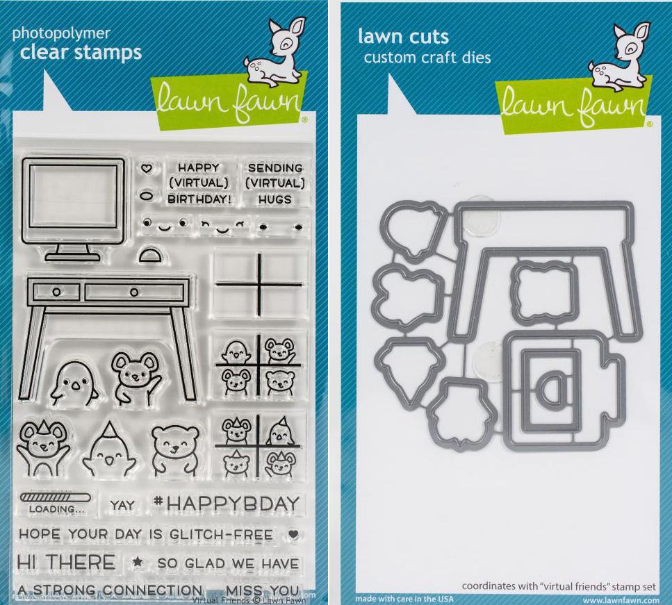 LF -Virtual Friends Stamp Die set
