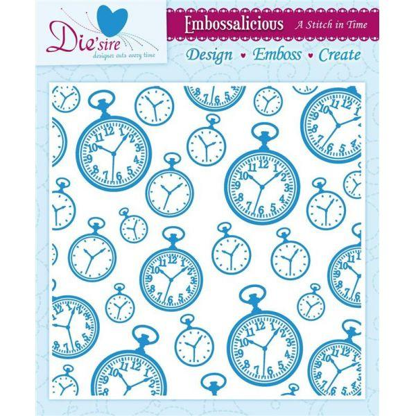 Embossing Folder A Stitch In Time 8x8