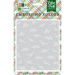 Embossing Folder Dino Friends