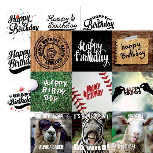 Reminisce Happy Bday - Happy Birthday to You cards