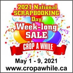 2021 National Scrapbooking Day Sale - May 1 to 9