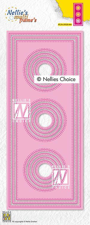 NC Multi Frames - Slim Lines Circles