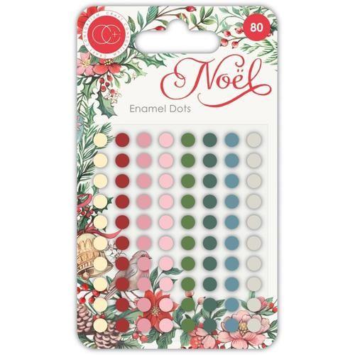 Craft Consortium Noel - Enamel Dots