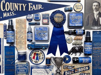 Prize Ribbon Distress Products