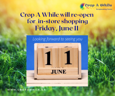 Crop A While will re-open to in-store shopping June 11