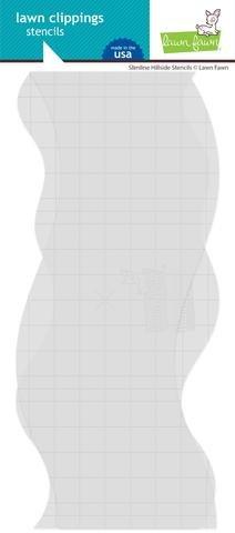 LF Stencil - Slimline Hillside (2)