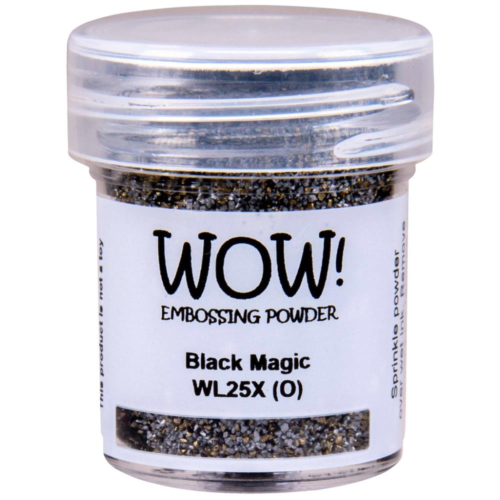 WOW Embossing Powder - Black Magic Regular